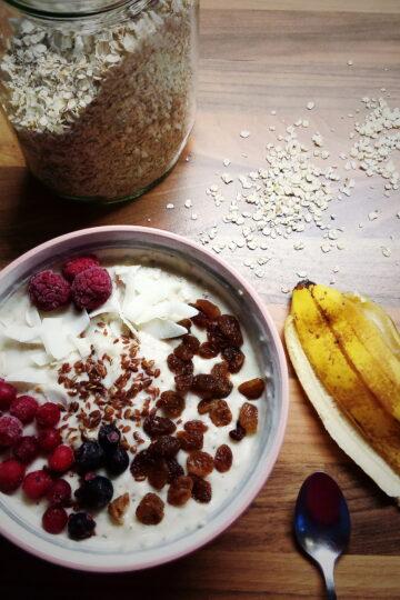 heljdine pahuljice u jogurtu